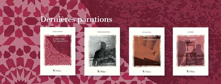 Les romans de l'automne chez Sémaphore ! «L'engrenage des apparences» de Michael Springate «Le…