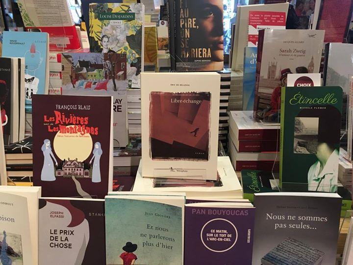 C'est la rentrée littéraire, «Libre-échange» est bien entouré, avec plein de nouveautés à découvrir… (via facebook)