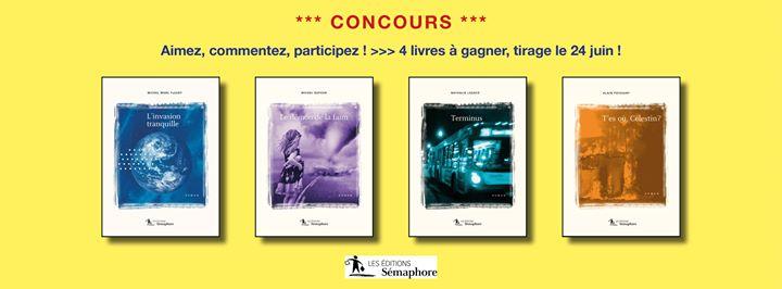 ** ! Concours du 17 au 24 juin ! ** >>> pour gagner les… (via facebook)