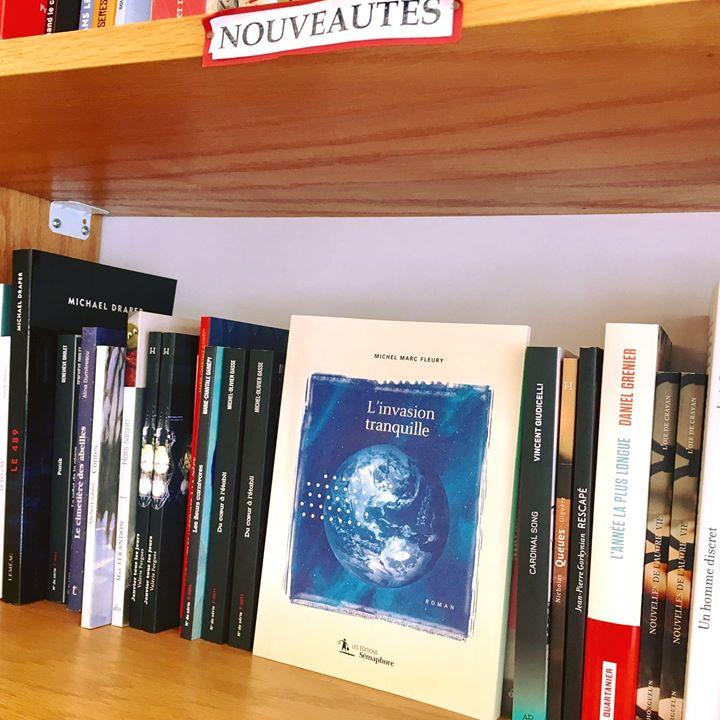«L'invasion tranquille» de Michel Marc Fleury est en librairie ! >>> ici, à la… (via facebook)