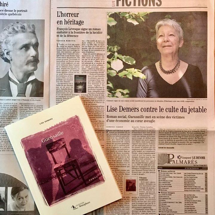 Envie de lire un bon roman montréalais ? Dominic Tardif, dans Le Devoir, vous… (via facebook)