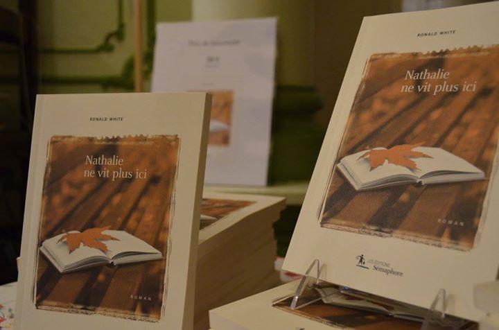 C'est entouré d'intimes que Ronald White a célébré le lancement de son roman Nathalie… (via facebook)