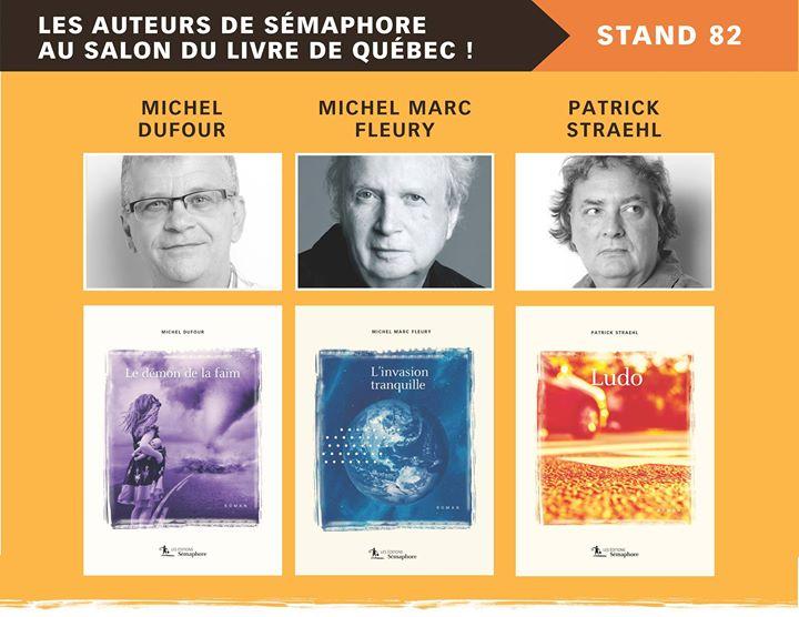 > > > Le Salon international du livre de Québec arrive à grands pas!… (via facebook)