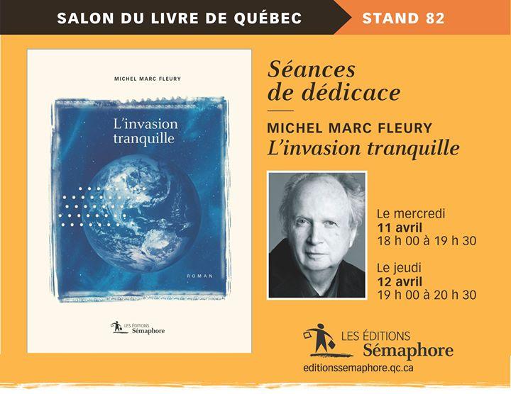 > > > Venez discuter avec trois auteurs des Éditions Sémaphore durant le Salon… (via facebook)