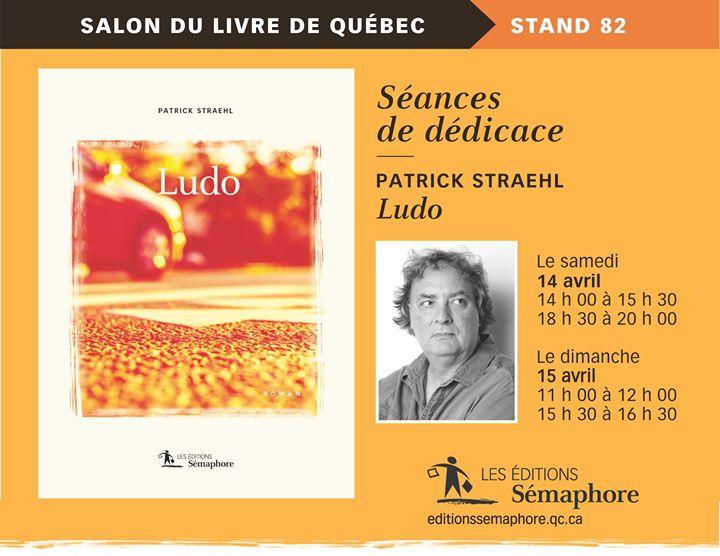 Salon international du livre de Québec Ne ratez pas l'occasion de rencontrer les auteurs… (via facebook)