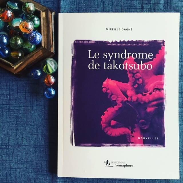 Nous saurons aujourd'hui si «Le syndrome de takotsubo» de Mireille Gagné remporte le Prix… (via facebook)