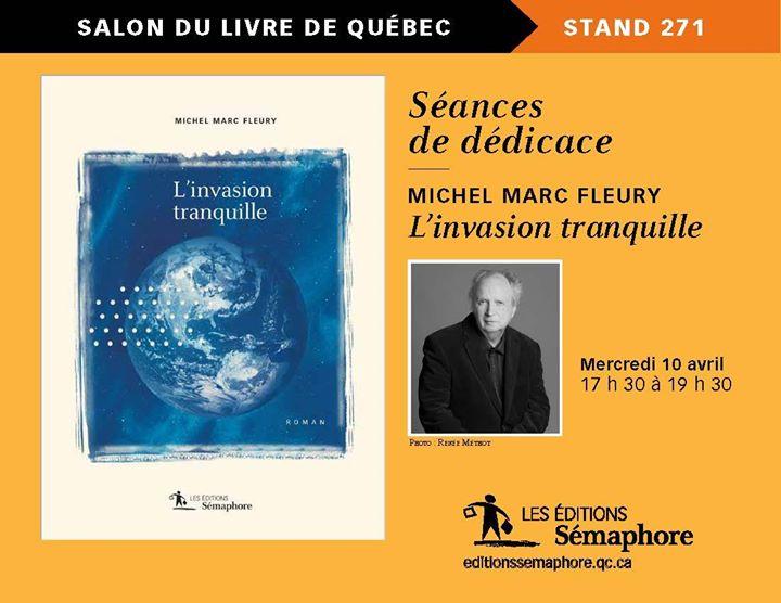 Le Salon international du livre de Québec commence demain! (via facebook)
