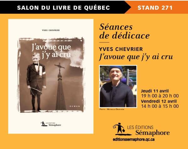 Une littérature étonnante et des auteurs à découvrir au Salon international du livre de… (via facebook)