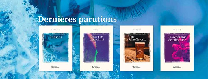 Les éditions Sémaphore updated their cover photo (via facebook)