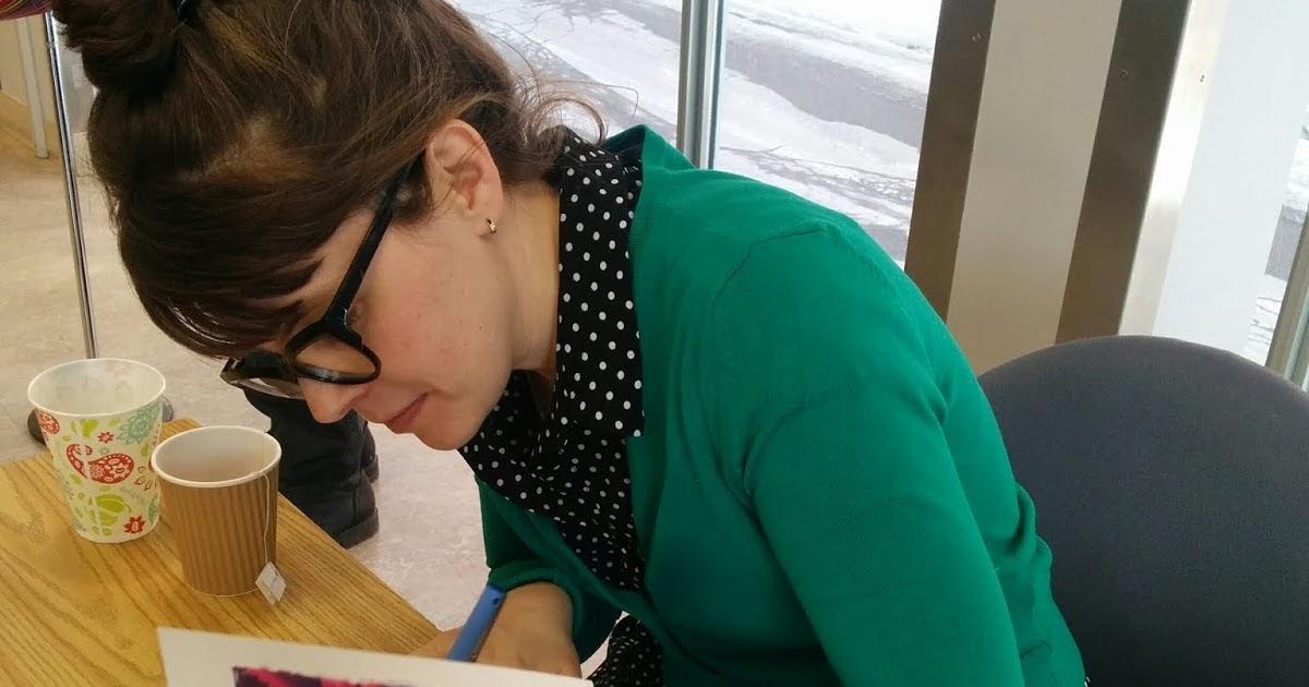 Avec son recueil de nouvelles Le syndrome de takotsubo, elle a été finaliste au… (via facebook)