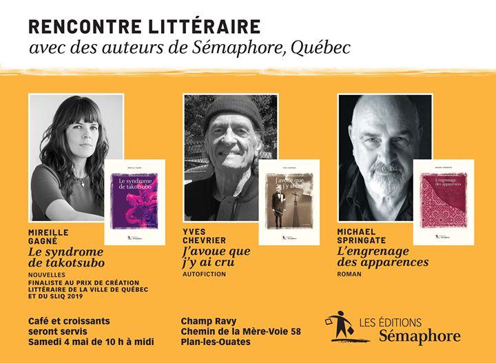 Samedi, nos auteurs sortent du Salon du livre de Genève pour cette activité animée… (via facebook)